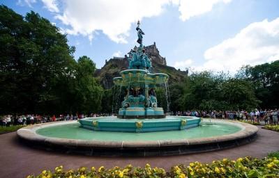 The Ross Fountain courtesy of Ross Development Trust