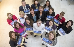 Investors in People Scotland group photo