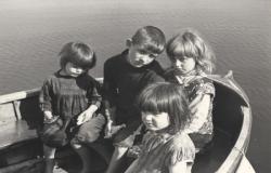 Children Eriskay by Dr Werner Kissling