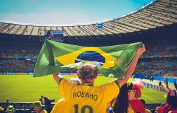 World Cup 2018 crowd photo